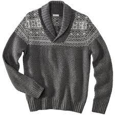 merona sweater merona s shawl collar sweater gray polyvore