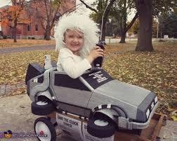 Future Halloween Costume Ideas Doc Brown Delorean Costume