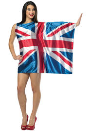 1970 Halloween Costumes Uk Flag Dress British Fancy Dress Costume Escapade Uk