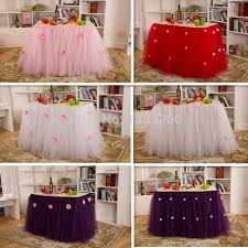 wholesale tulle best wholesale tulle tutu table skirting designs for wedding