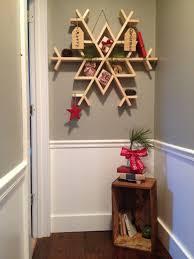 let it snow my diy wooden snowflake shelf furniture plans easy