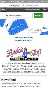 home goods bridal registry lynda s loft women s clothing store shoals alabama