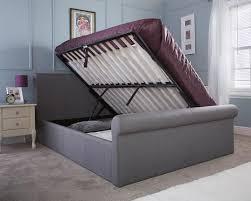 Milan Bed Frame Bed Company Carolina 4ft 6 Fabric Bedframe