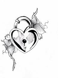 hearts key tattoo design real photo pictures images and