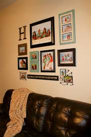 Combination Of Blue by Wall Display I Love The Picture Frame Color Combination Of Blue