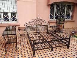 fer forgé chambre coucher chambre a coucher fer forgé à vendre à dans meubles et décoration