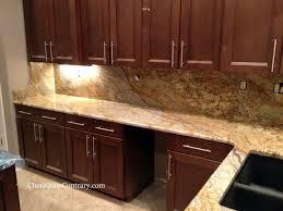 solarius granite with a full height backsplash kitchen counter