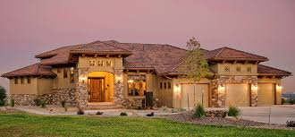 home designs exterior styles decor tuscan style homes with concrete pathway and wall sconces