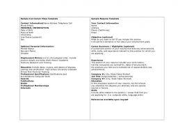 Resume Template Nz Basic Cv Template Nz