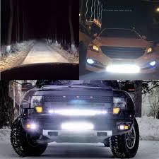 led tractor light bar 19inch 54w for cree chip slim led work light bar l foglight