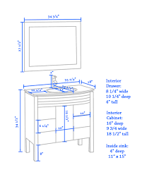 What Is Standard Bar Top Height Home Design Dazzling Vanity Table Height Charming What Is A