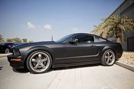2005 Mustang Gt Black 63130d1220997252 Exterior Mods Blue Stripes Shelby Razor Wheels