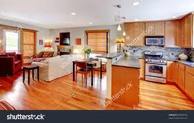 open kitchen floor plans line house