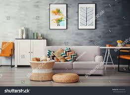 modern living room sofa furniture stock photo 549055441 shutterstock