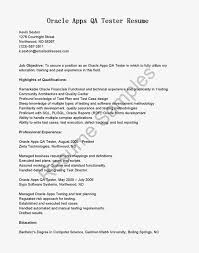 Sample Dba Resume by Download Qa Test Engineer Sample Resume Haadyaooverbayresort Com