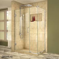 30 Shower Door Unidoor Plus 37 44 In X 30 3 8 In Hinged Shower Enclosure