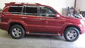 lexus gx470 tire pressure 2008 lexus gx470 salsa red pearl stock 163254 walk around