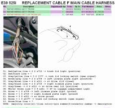 e36 325is radio wiring diagram tamahuproject org