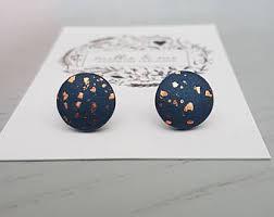 polymer clay stud earrings items similar to pumpkin earrings jewelry