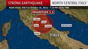 Italy Earthquake Map by Damaging Earthquake Shakes Central Italy At Least 2 Hurt The
