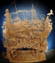 scott weaver u0027s 100k toothpick model of san francisco daily mail