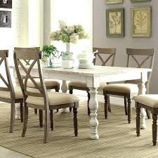 Distressed Dining Room Table White Distressed Dining Table White Distressed Dining Table 3
