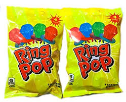 ring pops with strawberry watermelon blue raspberry