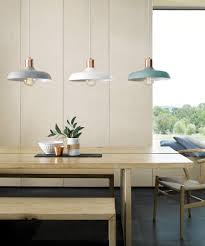 Pendant Light Kitchen 1 Light Pendant In Brushed Copper Mint Pendant Lights