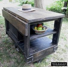 Distressed Kitchen Island Kitchen Great Rustic Kitchen Island Regarding Distressed Black