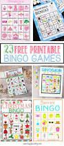 23 free printable bingo games bugaboocity