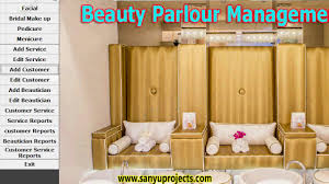 Living Room Vs Parlor Beauty Parlour Management System Vb6 0 Ms Access Project Youtube
