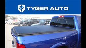 nissan titan tonneau cover tyger tri fold bed cover installation guide youtube