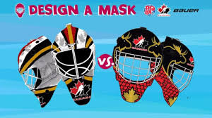 design competition boston team canada mask design competition hockeyjerseyconcepts