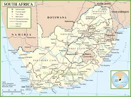 Africa And Asia Political Map by South Africa Maps Maps Of Republic Of South Africa