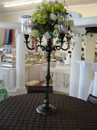 simply weddings wrought iron candelabra rentals