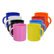 design plastic mug the vintage plastic mug features a simple but practical design