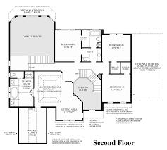 2nd Floor Plan Design Greenville Overlook The Duke Home Design