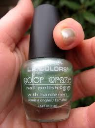 la colors u0027green tea u0027 nail polish elafurtak