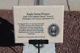 Eagle Scout Flag Eagle Scout U0027s Project Raises Flag At Restored Oak Grove