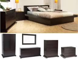 LS Zurich Bedroom Collection In Cappuccino - Zurich 5 piece bedroom set