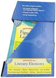 amazon com spotlight on literary elements scholastic inc cor
