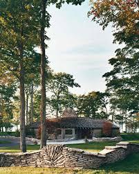 home tour modern lake house martha stewart