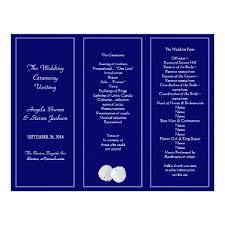 trifold wedding program paper tri fold wedding program paper europe tripsleep co