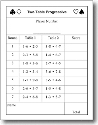 two table progressive tally basic small sz two 2 table tally sheets