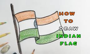 how to draw indian flag youtube