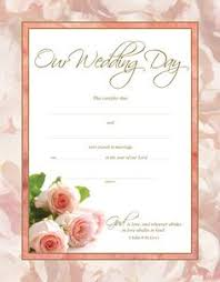 certificate of marriage marriage certificate template
