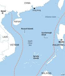 China Sea Map by Sun Surf And Patriotism Life As A Tourist Cruising The South