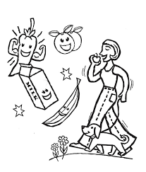 creative idea health coloring pages dental health coloring page