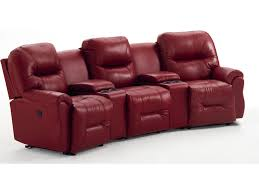 Best Home Furniture Best Home Furnishings Bodie 3 Seater Power Reclining Home Theater
