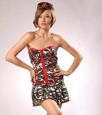 Military Halloween Costumes Women Cotton Blend Military Costumes Women Ebay